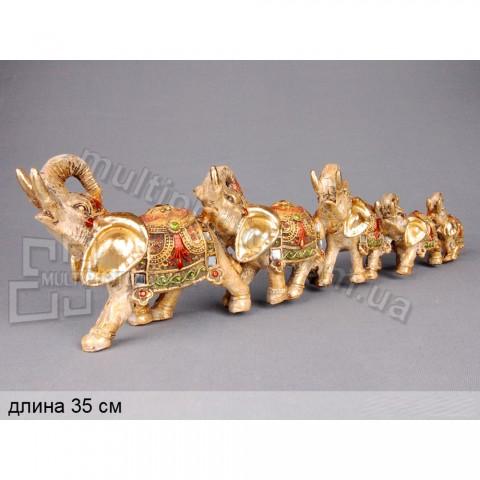 Декоративная статуэтка 7 слонов