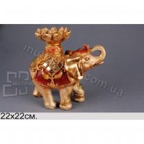 Фигурка декоративная Украшенный слон
