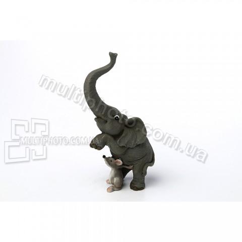 Декоративная статуэтка Дрессированный слоник