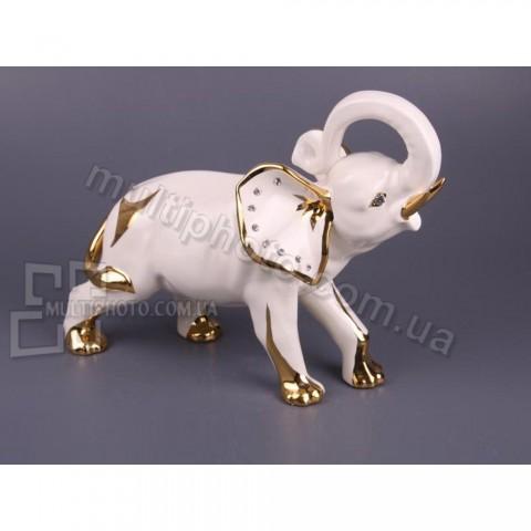 Декоративная фигурка Золотой слоник