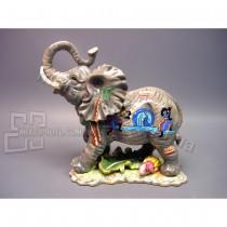 Керамическая фигурка Слон и Африка