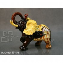 Керамическая статуэтка Lefard слон 15 см