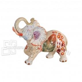 Керамическая статуэтка Слон мехенди
