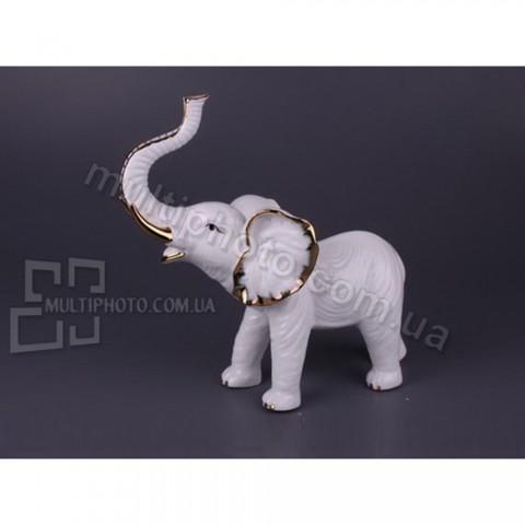 Фарфоровая статуэтка Слон певец