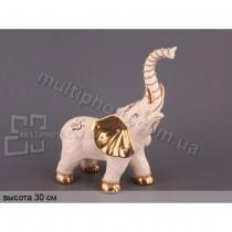 Фарфоровая декоративная фигурка Слон