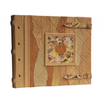 Фотоальбом кожаный семейный в стиле 19 века 519-5