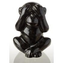 Статуэтка Eterna ZD9463 Обезьяна невидения черная