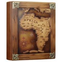 Фотоальбом формата А4+ кожаный Африка