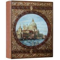 Фотоальбом кожаный Венеция 1 А4