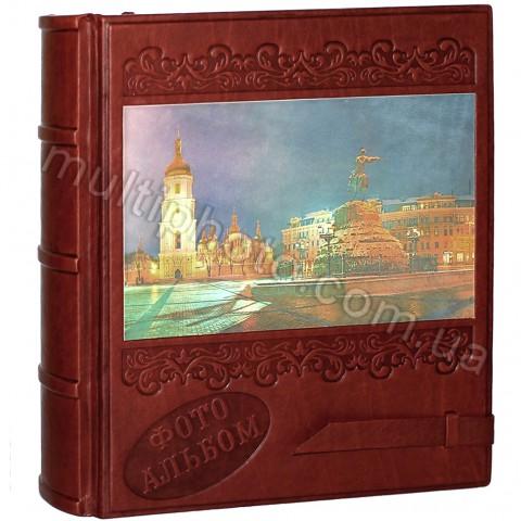 Фотоальбом кожаный Арт Кажан Киев 720-50-15 ручной работы