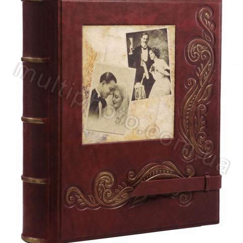 Свадебный кожаный фотоальбом Воспоминания 720-05-20