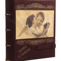 Семейный кожаный фотоальбом Ангелы 720-50-19