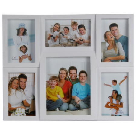 Мультирамка EVG BIN 1122520 WHITE Collage 6