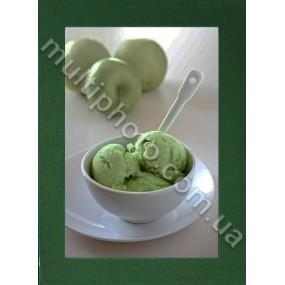 Фоторамка деревянная темно-зеленая Руноко
