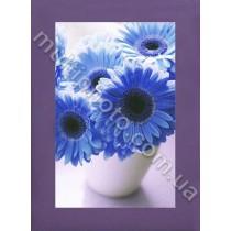 Фоторамка деревянная темно-фиолетовая Руноко