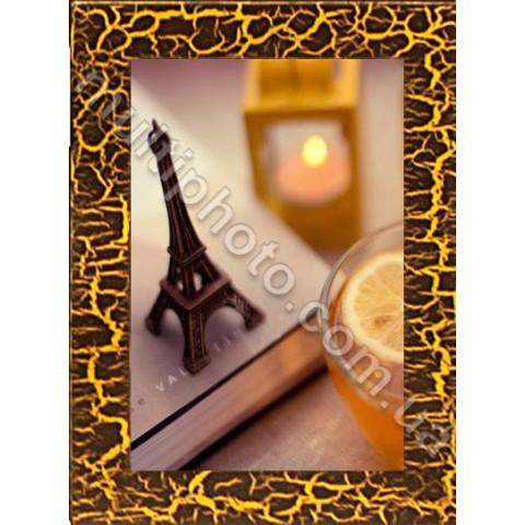 Фоторамка деревянная шоколад Руноко