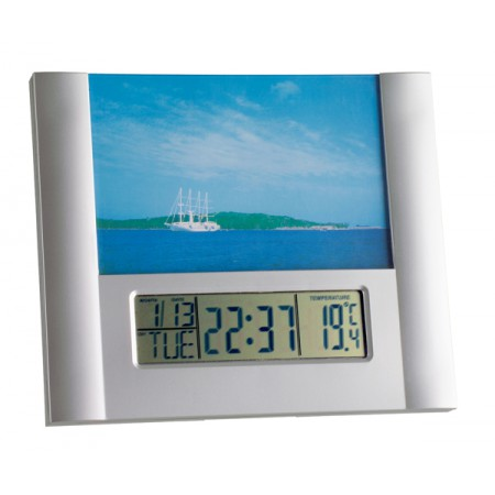Часы-Будильник TFA с фоторамкой 981093