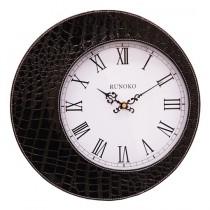 Часы настенные Runoko Leather Black