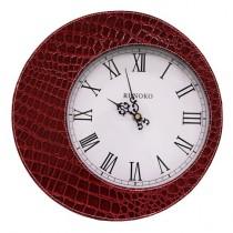 Часы настенные Runoko Leather Red