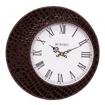 Часы настенные Runoko Leather Brown