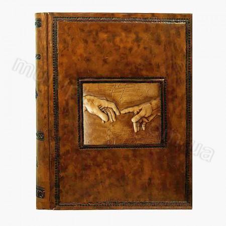 Кожаный фотоальбом Inobili Michelangelo self adg M47 24x30см