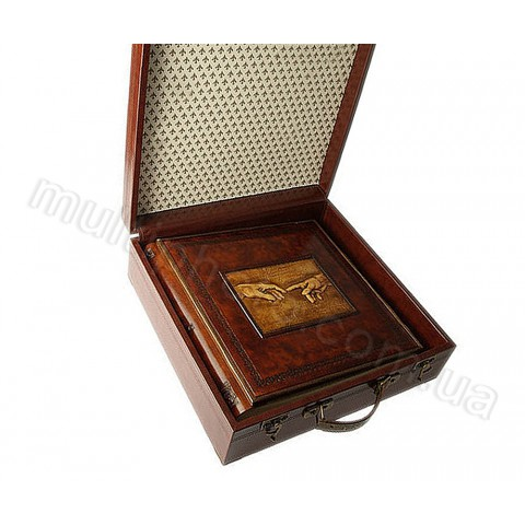 Кожаный фотоальбом Inobili Michelangelo M47 35x35см