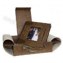Кожаный фотоальбом Inobili Medioevo M75 35x35см