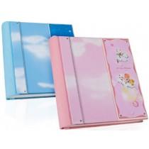 Кожаный фотоальбом детский Inobili Fantasy розовый FANp 33x33см