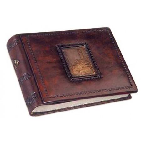 Альбом для фото кожаный AL18620026 Палацо Florentia 19x14 см