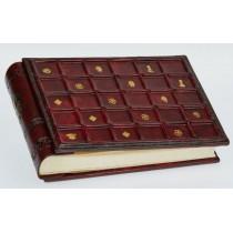 Альбом для фото кожаный AL18000014 Сиена Florentia 19x14 см