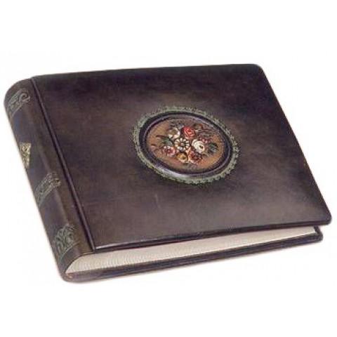 Альбом для фото кожаный AL18901010 Фловерс Florentia 19x14 см