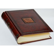 Альбом для фото кожаный AL24602001 Леонардо Florentia 24x30 см