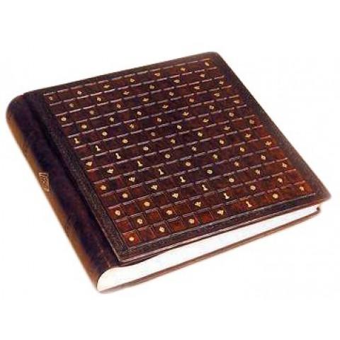 Альбом для фото кожаный AL35000014 Сиена Florentia 35x35 см