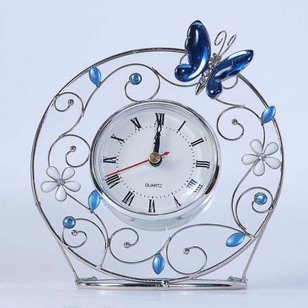Часы Голубая бабочка 298-CK