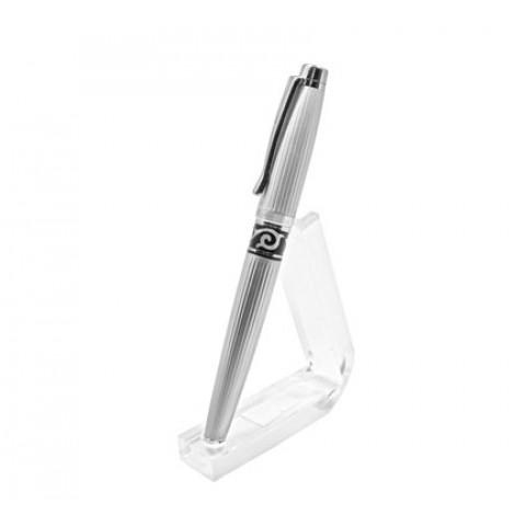 Ручка роллер Gianni Terra silver черного цвета HHN/R