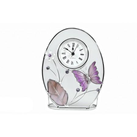 Часы Jardin D`ete фиолетовая бабочка 13773