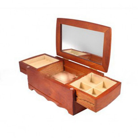 Комодик для украшений двухярусный King wood 0604B