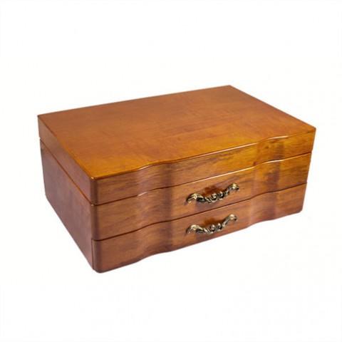 Шкатулка для украшений двухярусная King wood 2578-1B