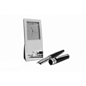 Набор часы настольные и ручка Pierre cardin PR2606