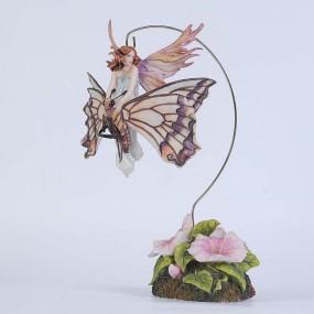 Статуэтка Veronese фея-малютка на волшебной стрекозе 72459