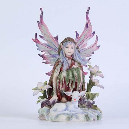 Статуэтка Veronese фея-владыка зимы 73244