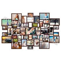 Мега-мультирамка деревянная Galaktica на 47 фото 200x150 см
