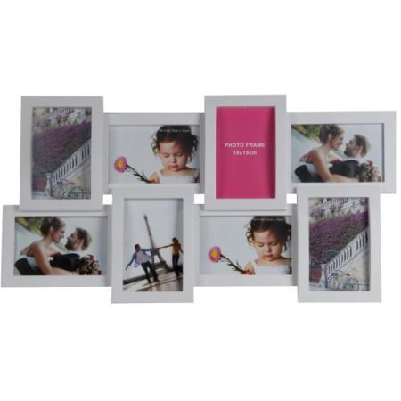 Мультирамка Extra White на 8 фото Hidu 60x30 см