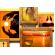 Мультирамка МЕГА Путешествие Двойное Золото на 12 фото 100x100 см