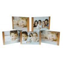 Мультирамка Runoko Gold 5 на 5 фото 20x47 см