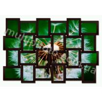 Мультирамка Спрингфилд черная на 24 фотографии со Стеклом