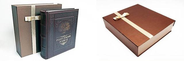 подарочная коробка для кожаного фотоальбома