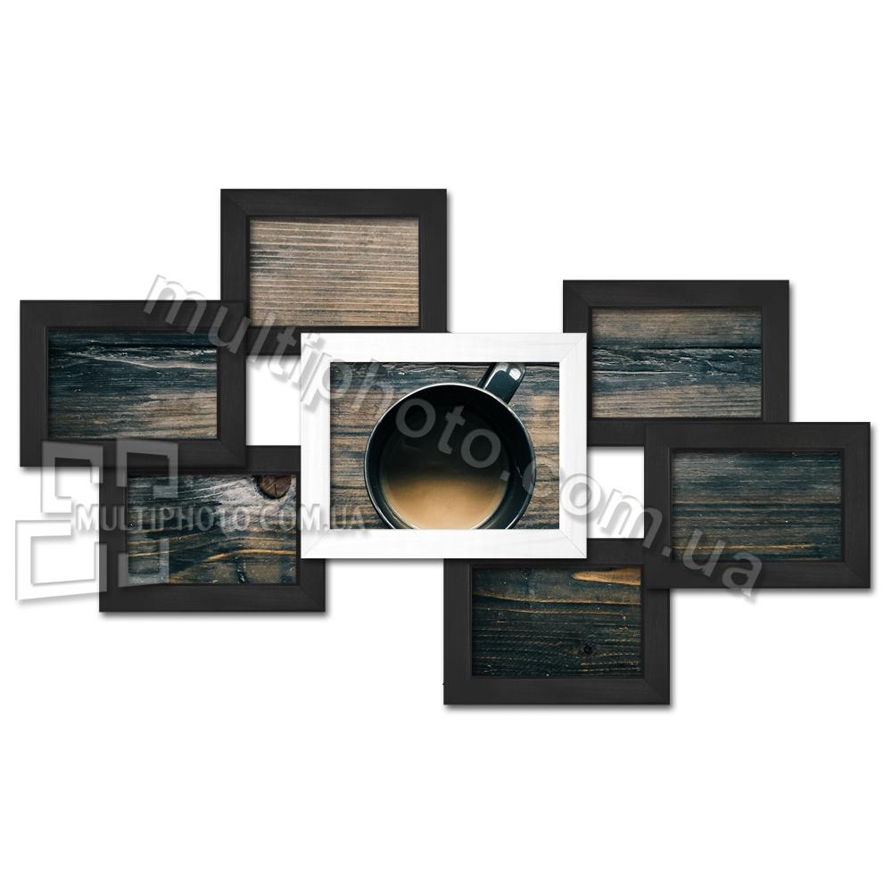 Эксклюзивная рамка для фото в черно-белом цвете
