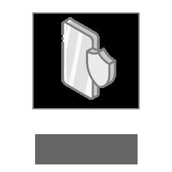 Защитный экран фото оргстекло толщиной 1 мм